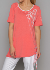Arte Pura Daniela Dallavalle T-Shirt corallo AP.C30011