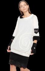 Elisa Cavaletti Oversized Strick Pullover Dress Kleid ELW202022609 Herbst Winter 2020 2021