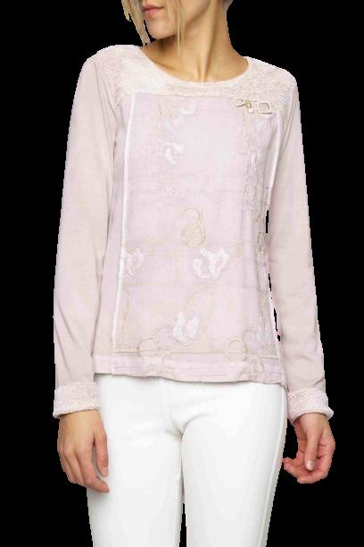 Elisa Cavaletti rose Langarmshirt T Shirt Bluse ELW205089205 HW 2020 2021