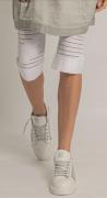 Elisa Cavaletti knielange Leggings weiß Netzleggings ELP206030708 Sommer 2020