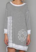 Arte Pura Daniela Dallavalle oversized Longshirt Shirt materia grau  AP.C30005