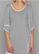 Arte Pura Daniela Dallavalle 3/4 Arm T-Shirt in grau  AP.C30002