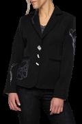Elisa Cavaletti schwarzer Blazer Jacket mit Strass ECW207040604 Herbst Winter 2020 2021
