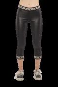 Elisa Cavaletti schwarze Capri Leggings EJP216041501 Frühjahr Sommer 2021
