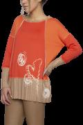 Elisa Cavaletti Langarmshirt T Shirt Pulli orange EJW205017200 Herbst Winter 2020 2021