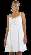 Elisa Cavaletti kurzes Kleid A-Form weiß ELP212053203 Sommer 2021
