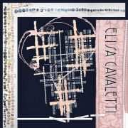 Elisa Cavaletti Seidenschal Tuch Seide ELW200899101 blau rosa Herbst Winter 20 21