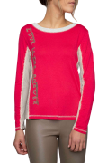 Elisa Cavaletti Langarm T- Shirt Shirt Pulover Prua ELW205043302 Herbst Winter 2020 2021