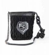 Elisa Cavaletti Schultertasche schwarz Tasche mit EC Logo ELW210686507 Herbst Winter 2021 / 2022