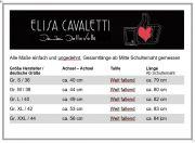 Elisa Cavaletti langes Top A-Form T Shirt Bluse Tunika ELP219084701 Sommer 2021